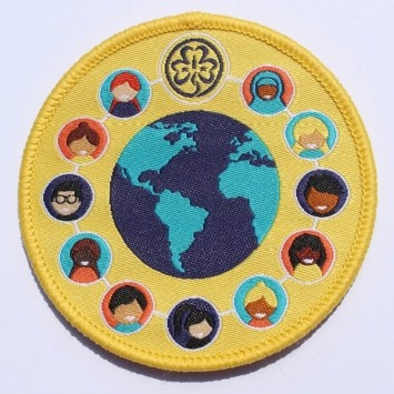 WAGGGS International Friendship Badge